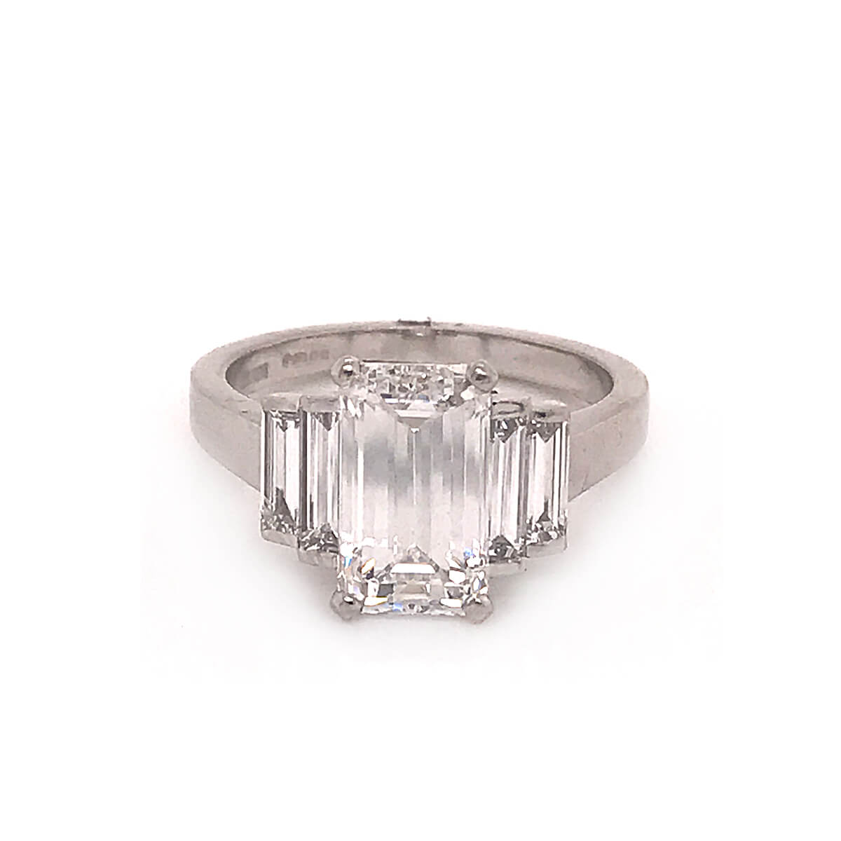 Emerald Cut Diamond Ring Cry For The Moon